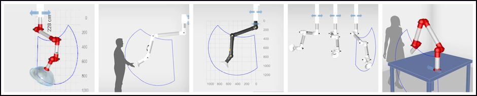 Alsident System A/S - With our dimensioning program it is easy to choose and visualize the correct extraction arm for your work situation